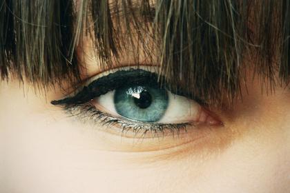 ハーフの瞳