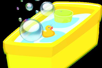 お風呂セットと浴槽