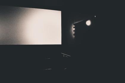 暗い映画館