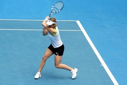 テニスの女子選手