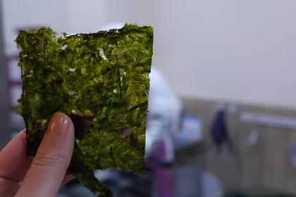 四角に切った海苔
