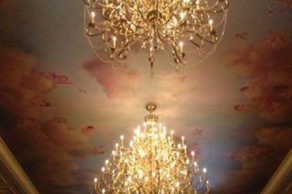 ホテル内の照明