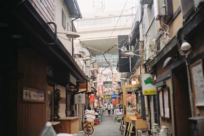 食べ歩きできる商店街