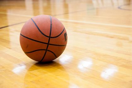 バスケットのボール