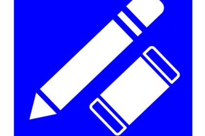 ペンと消しゴム