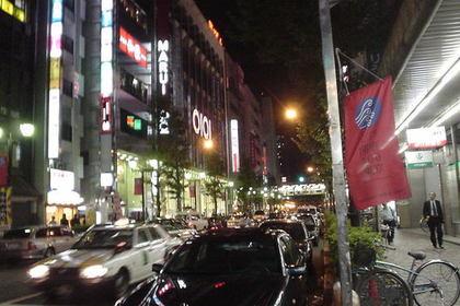 中野駅前の中野通り