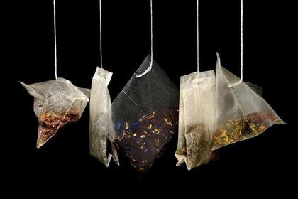 様々な茶葉のパック