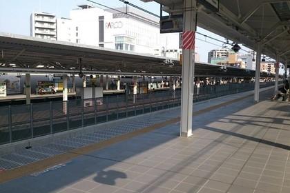 浦和駅のホーム