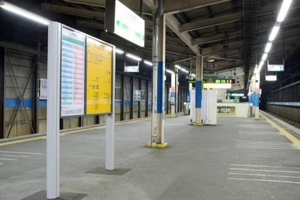 与野駅のホーム
