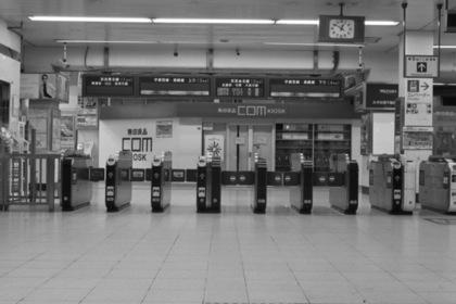 浦和駅の改札