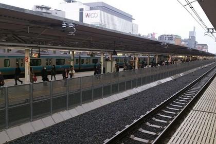 浦和駅の駅ホーム