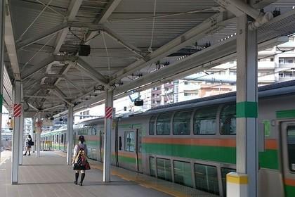 浦和駅に停車中の湘南新宿ライン