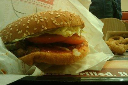ハンバーガーの包み