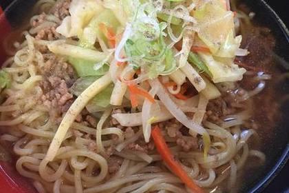 野菜入り麺