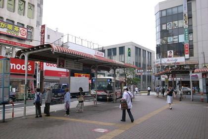 西荻窪駅のバス乗り場