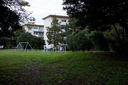 阿佐ヶ谷住宅横の公園