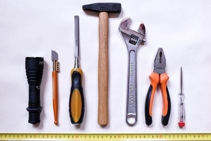 日曜大工の道具