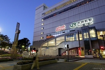 JR大井町駅の外観