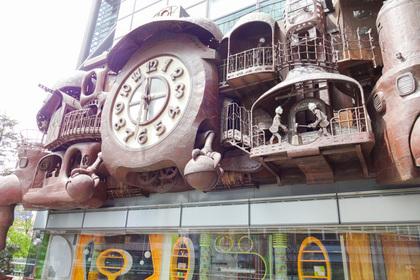 宮崎駿の日テレ大時計