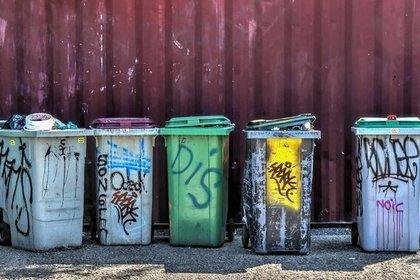 オシャレなゴミ箱