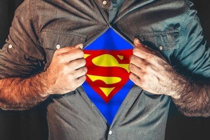 強さの象徴スーパーマン