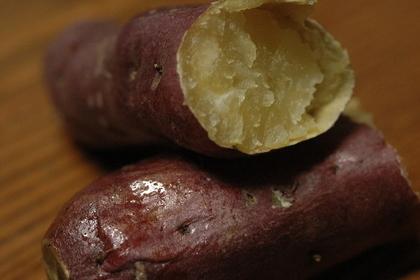 温かい焼き芋