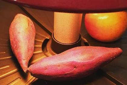 遠赤外線で焼く焼き芋