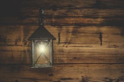 センサーライトの照明