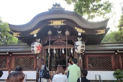 晴明神社の拝殿