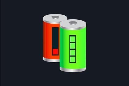 満タンになった電池