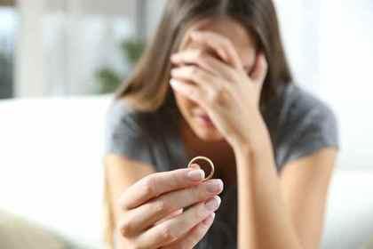 指輪を外す