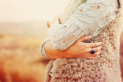 中指の指輪