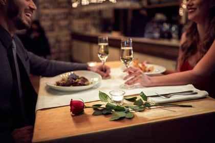 2人きりでデートをする