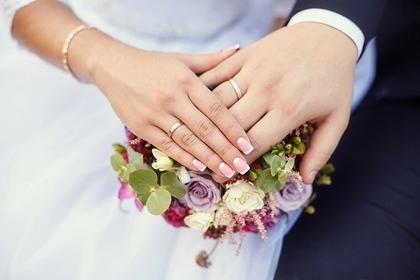 結婚のブーケ