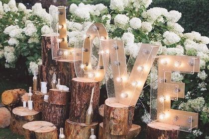 結婚式の飾り