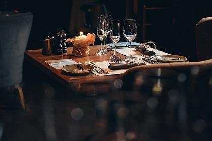 個室のレストラン