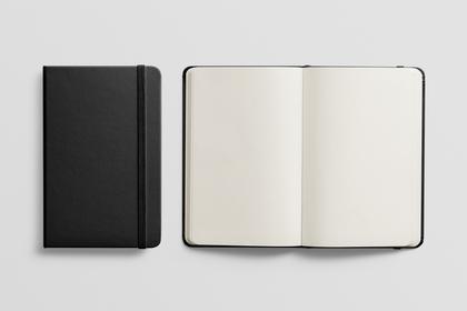 黒色の手帳