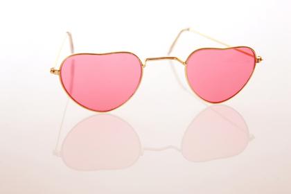 ハートのサングラス