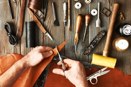 革製品の道具
