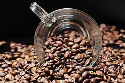 コーヒー豆の量を計るカップ