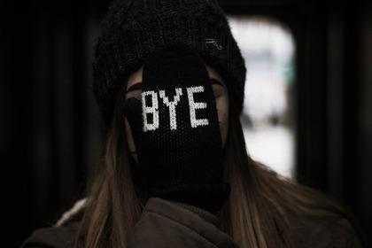 BYEの手袋