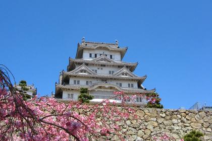 姫路城の景色