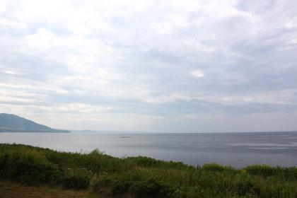 サロマ湖の景色