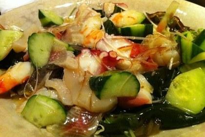 蛸と胡瓜の酢の物