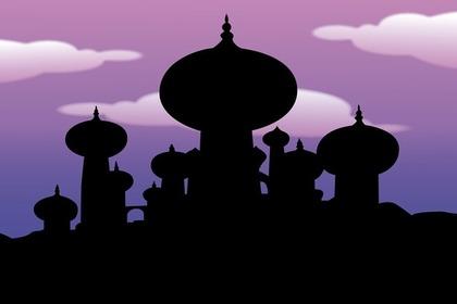 オアシスの宮殿