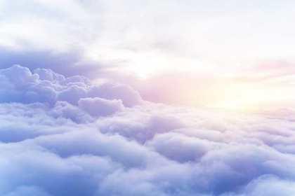 雲海と太陽光