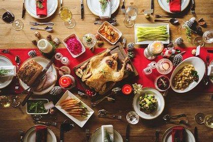豪華な食卓