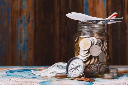 飛行機とお金