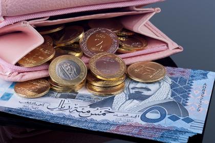 財布と大量の小銭