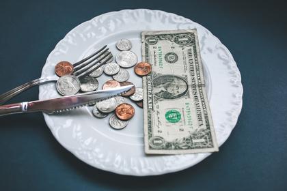 食器とお金